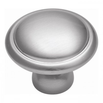 Tranquility Knob (Satin Silver Cloud) - 1 1/4""