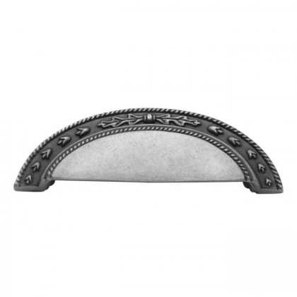 """Chartres Cup Pull (Satin Pewter Antique) - 3"""""""