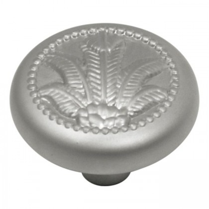 West Indies Knob (Pearl Nickel) - 1 3/8""