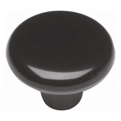 "Knob (Black) - 1 1/2"""