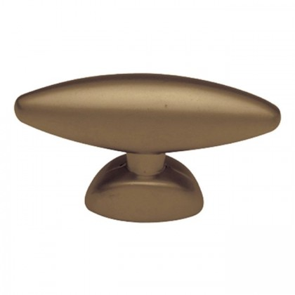 "Metropolis Oval Knob (Venetian Bronze) - 1 1/2"""