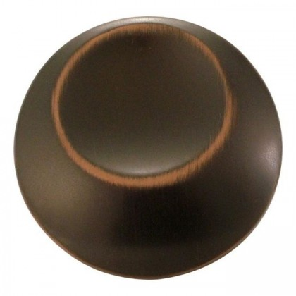 Metropolis Knob (Oil Rubbed Bronze Highlighted) - 1-1/4""