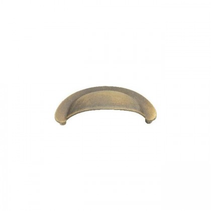 """Cup Pull (Blonde Antique) - 2-3/4"""""""