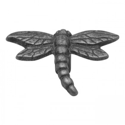 "Natural Accents Dragonfly Knob (Vibra Pewter) - 2 1/4"" x 1 3/4"""