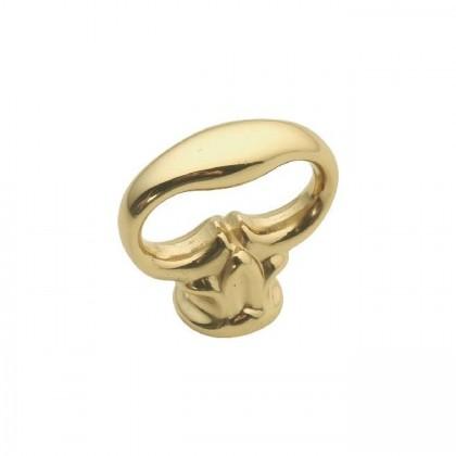 """Key (Polished Brass) - 1-1/8"""""""