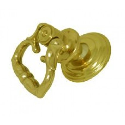 """Ring Pull (Polished Brass) - 1-1/2"""""""