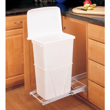 Pull-Out 50 Qt. Waste Container