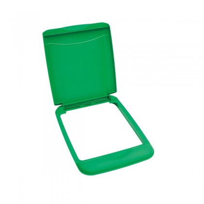 35 Qt. Waste Container Lid (Green)