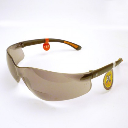 Tinted Safety Glasses (Anti Fog) - 3.0 Diop
