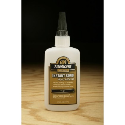 Titebond Instant Bond Adhesive (Thin) - 4 oz