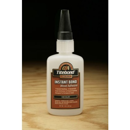 Titebond Instant Bond Adhesive (Medium) - 2 oz