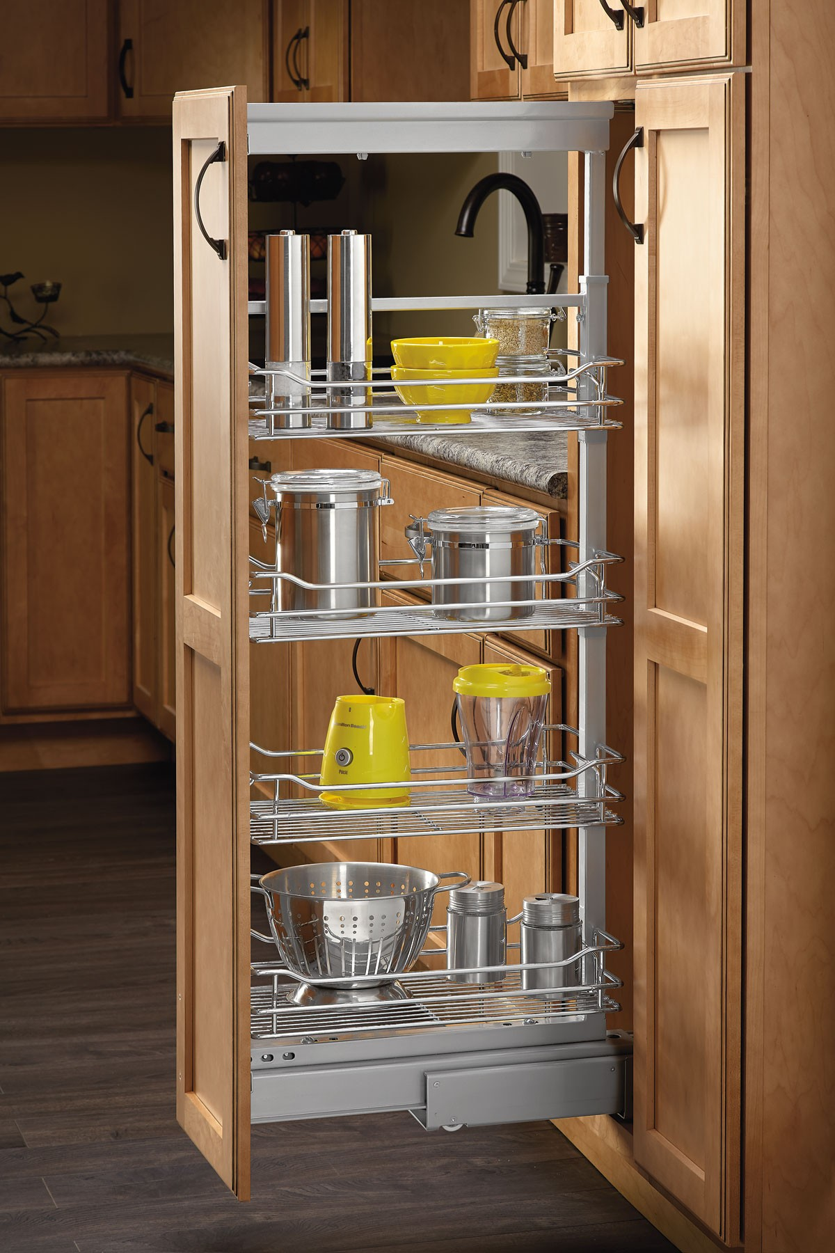 "4"" Pull Out Pantry (Chrome), 5773-04 CR (Rev A Shelf)"