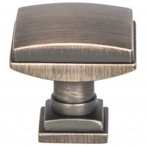 "Tailored Traditional Knob (Verona Bronze) - 1 1/4"""