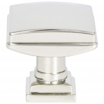 Tailored Traditional Knob (Polished Nickel) - 1 1/4""