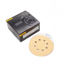 "5"" Mirka Gold Sandpaper, 8 Hole (Grip Back)"