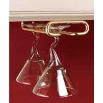 "16"" Stemware Rack (Brass)"
