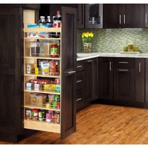 448 Series Pull Out Wood Pantry
