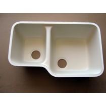 Integra Left Side Sink Classic (Cream)