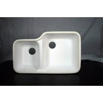 Integra Right Sink Classic (White)