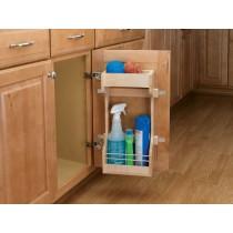 """10 1/2"""" Wooden Sink Door Storage Trays"""