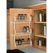 "15"" Door Mount Spice Rack"