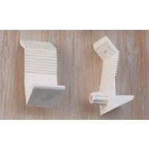 "1/4"" Shelf Support (White)"