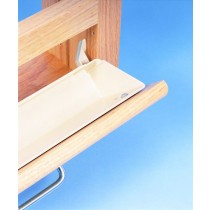 """11"""" Tray with Tab Stops (Almond)"""