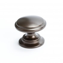 Adagio Knob (Oil Rubbed Bronze) - 1 3/16""