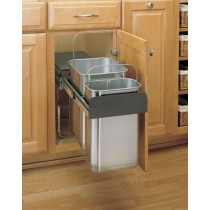 Under Sink Mount Waste Container