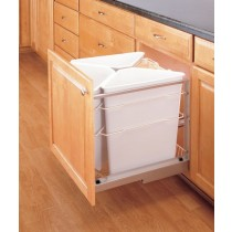25 Qt Replacement Waste Container (White)