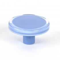 "Knob (Blue Acrylic) - 2"""