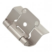 "Face Frame Hinge (Satin Nickel) - 1/2"" Overlay"