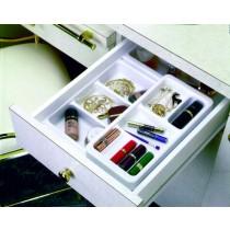 """Cosmetic Organizer Plus Kit - W/Rolling 6"""" Trays"""