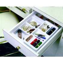 "Cosmetic Organizer Plus Kit - W/Rolling 6"" & 9"" Trays"