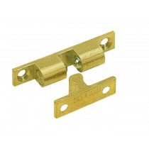 Brass Double Ball Catch (Large)