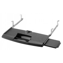 Keyboard Drawer w/ Mouse Tray (Black)