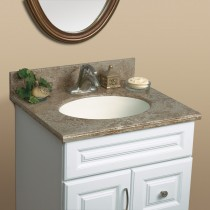 "Mystera Buckskin Canyon Vanity with Bowl (22"" x 49"")"