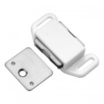 "Magnetic Catch (White) - 1 1/8"" x 2"""