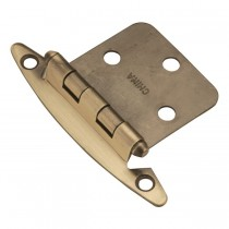 Flush Hinge (Antique Brass)