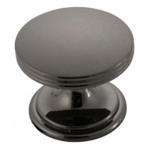 American Diner Knob (Black Nickel) - 1 3/8""