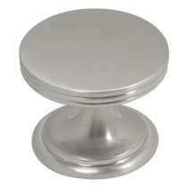 American Diner Knob (Satin Nickel) - 1 3/8""