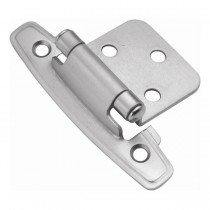 Flush Hinge (Satin Chrome)