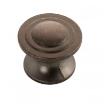Deco Knob (Dark Antique Copper) - 1-1/4""