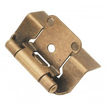 "Face Frame Hinge (Antique Brass) - 1/2"" Overlay"