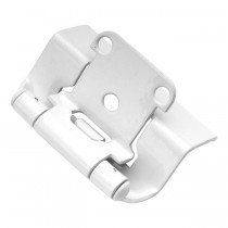 "Face Frame Hinge (White Powder) - 1/2"" Overlay"