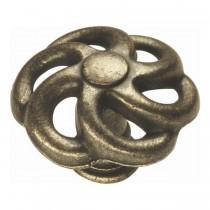 "Charleston Blacksmith Knob (Windover Antique) - 1 1/2"""