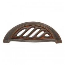 "Charleston Blacksmith Pull (Rustic Iron) - 3"""
