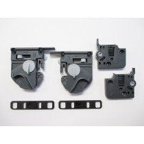 Quadro 4D Fixing Clip & Adjuster Set