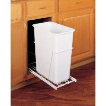 30 Qt. Waste Container (White)