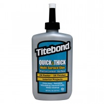 Titebond Quick & Thick Wood Glue - 8 Oz